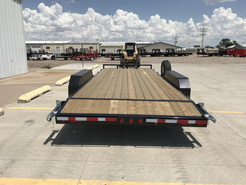 "2019 PJ 20' x 5"" Equipment Trailer"