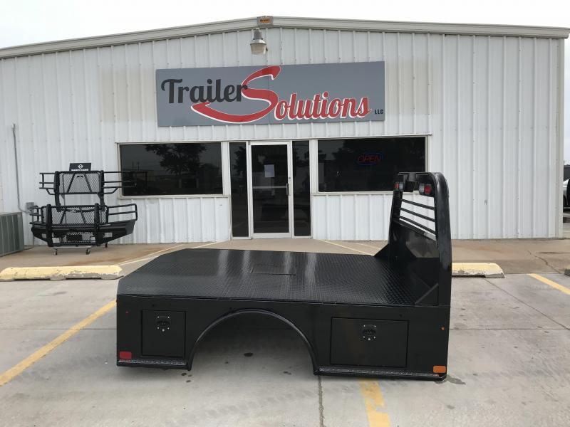 2012 Used PJ Standard Skirt Steel Truck Bed