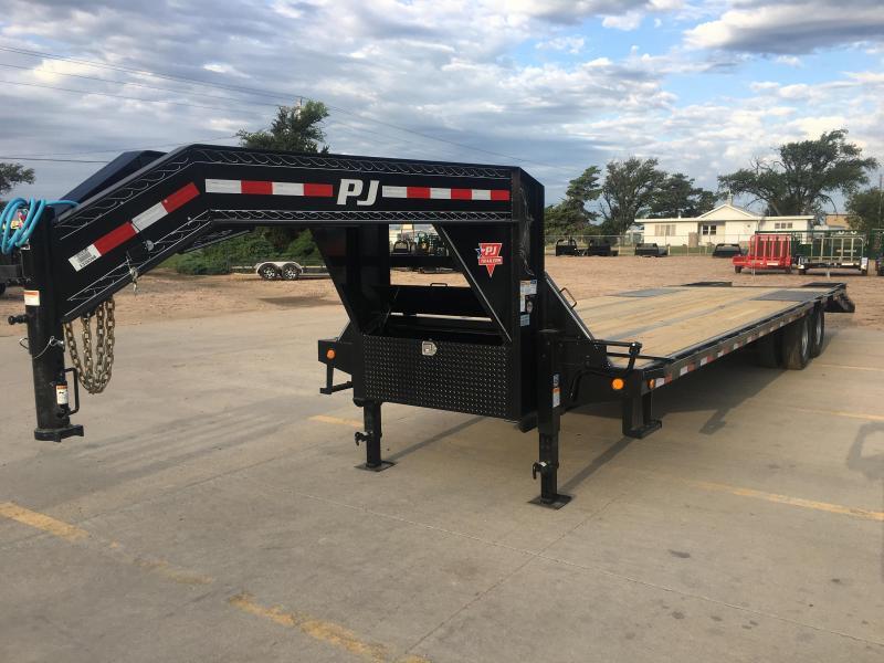 "2020 PJ 32' x 102"" Low Pro Flatdeck with Duals"