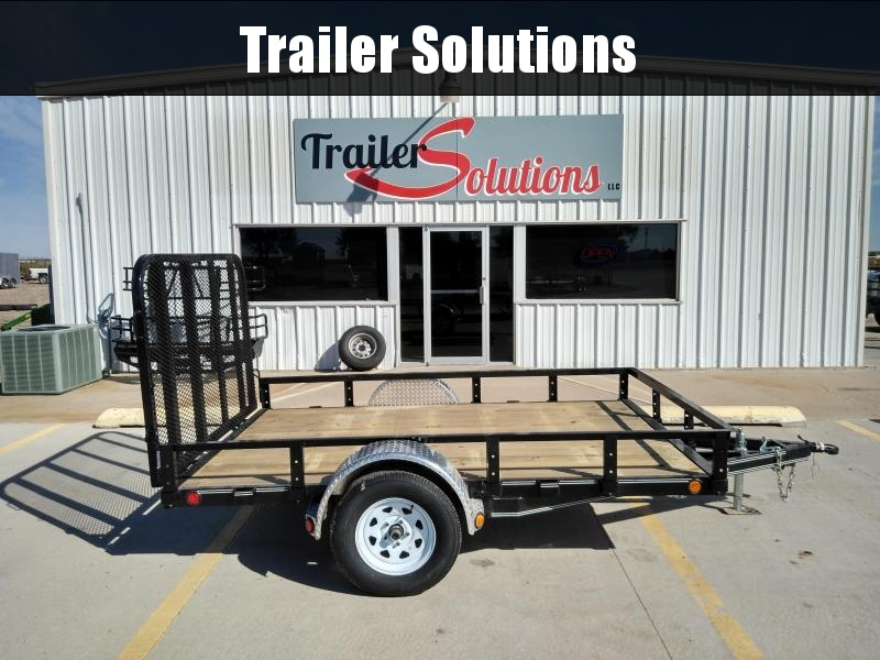 "2019 PJ 10' x 77"" Single Axle Channel Utility Trailer"