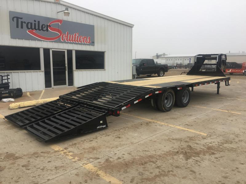 "2019 PJ 25' x 102"" Low Pro Flat Deck Trailer with Duals"