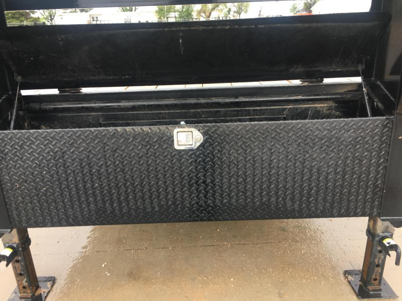 2019 PJ Used  Flatbed Trailer With  8000 Axles