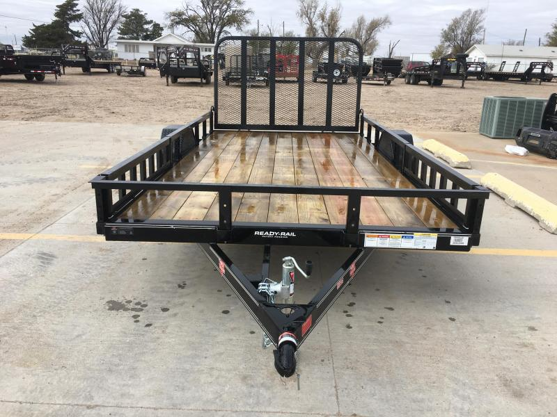 "2019 PJ 14' x 83"" Single Axle Channel Utility Trailer"