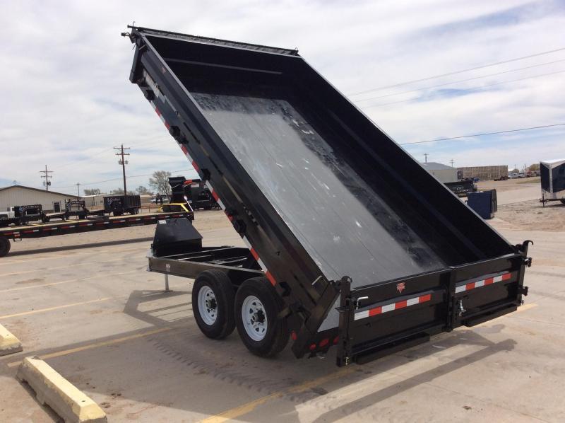 "2020 PJ 14' x 96"" Deckover Dump Trailer"