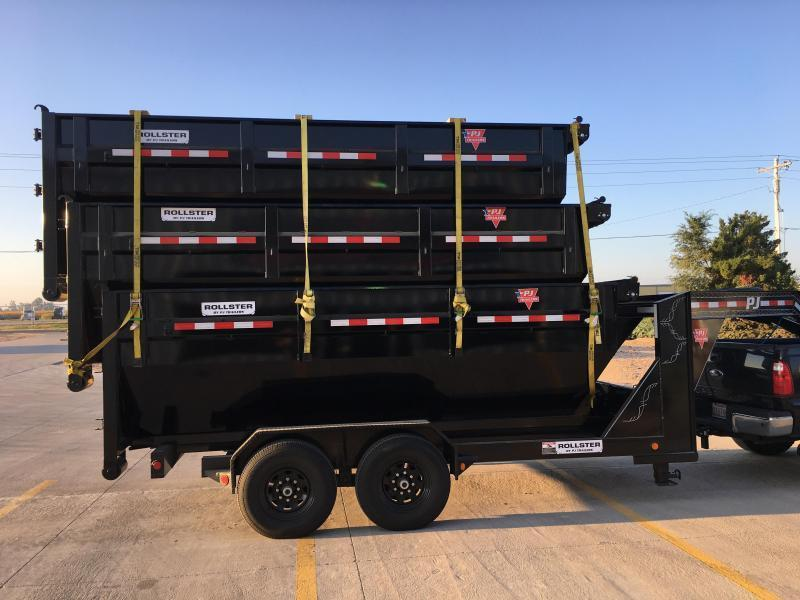 2019 PJ 14' x 83 Rollster Roll Off Dump Trailer