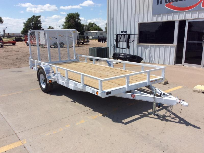 "2020 PJ 14' x 77"" Single Axle Channel Utility Trailer"