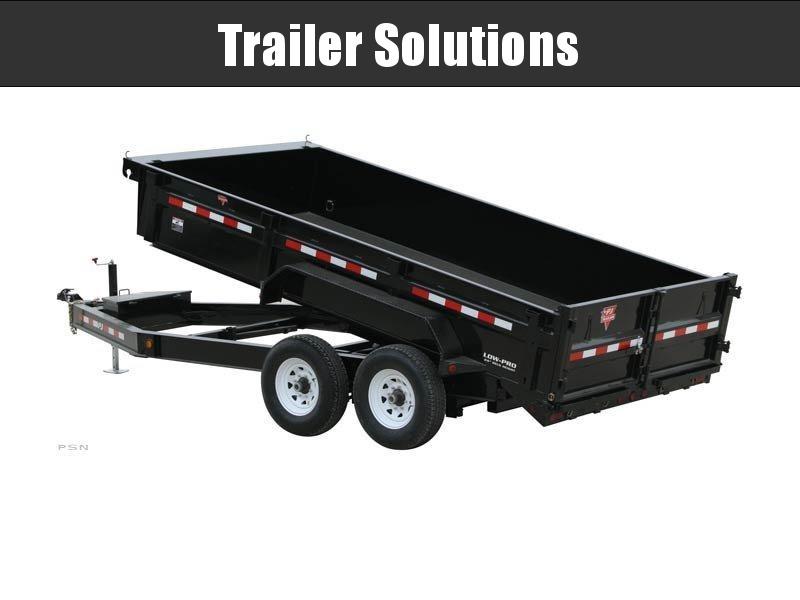 "2020 PJ 16' x 83"" Low Pro Dump Trailer"