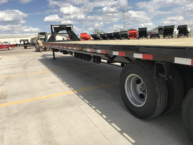 "2019 PJ 40' x 102"" Classic Flatdeck Trailer With Duals and Air Ride"