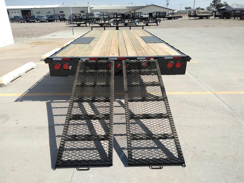 "2019 PJ 20' x 102"" Medium Duty Deckover 6"" Channel Trailer"
