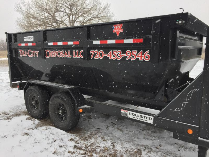 2018 Used PJ Trailers DR142  Roll Off  Dump Trailer