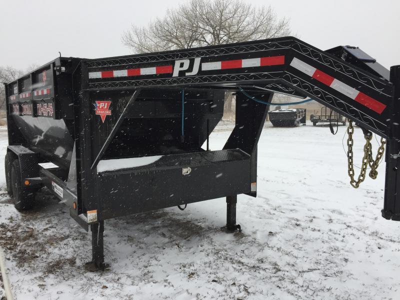 2018 Used PJ Trailers DR142  Roll Off  Dump Trailer