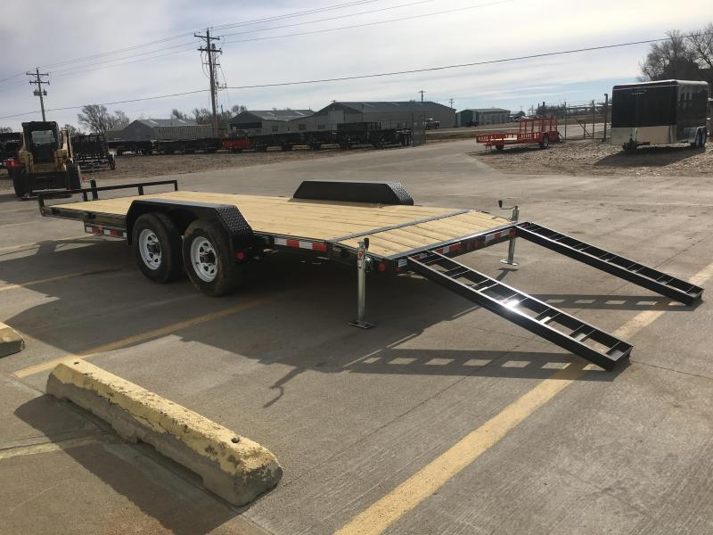 "2019 PJ 18' x 83"" with 5"" Channel Equpment Trailer"