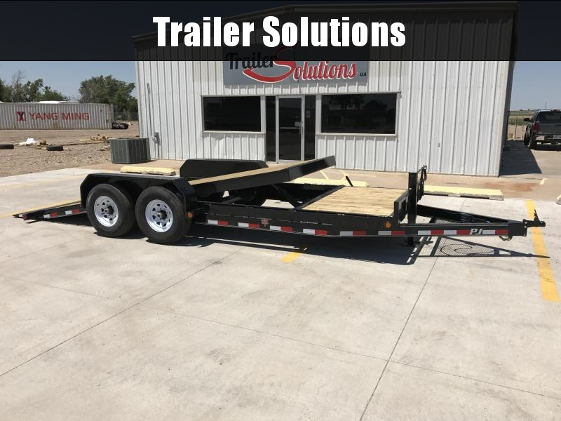 "2020 PJ 20' x 83"" 6"" Channel Equipment Tilt Trailer"