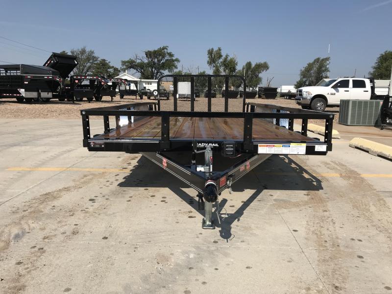 "2019 PJ 16' x 83""  Tandem Axle Channel Utility Trailer"