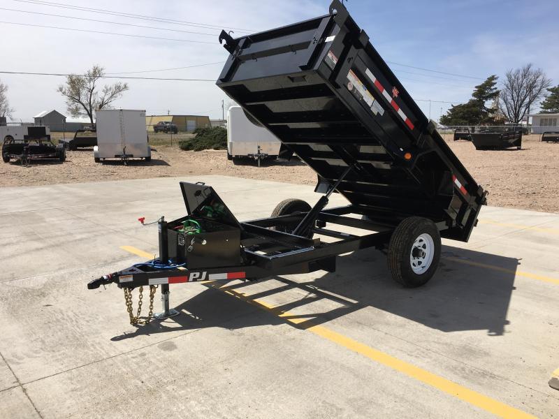"2019 PJ 10' x 60"" Utility Dump Trailer"