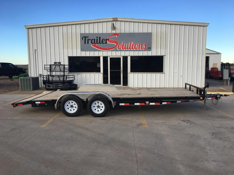 "2019 PJ 20' x 83"" 5"" Channel Carhauler Trailer"