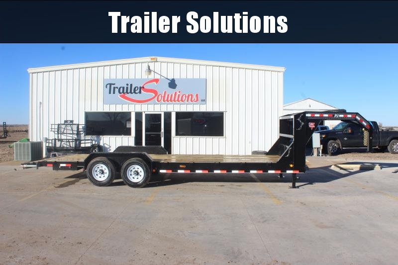 "2020 PJ 24' x 83' with 6"" Channel Equipment Hauler Trailer"