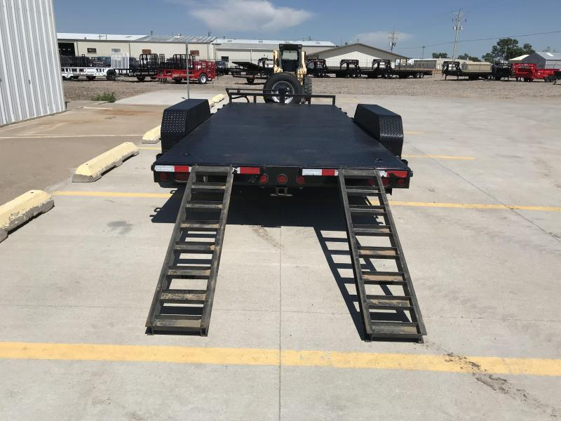 "2011 PJ 18' x 83""  6"" Channel Carhauler Trailer"