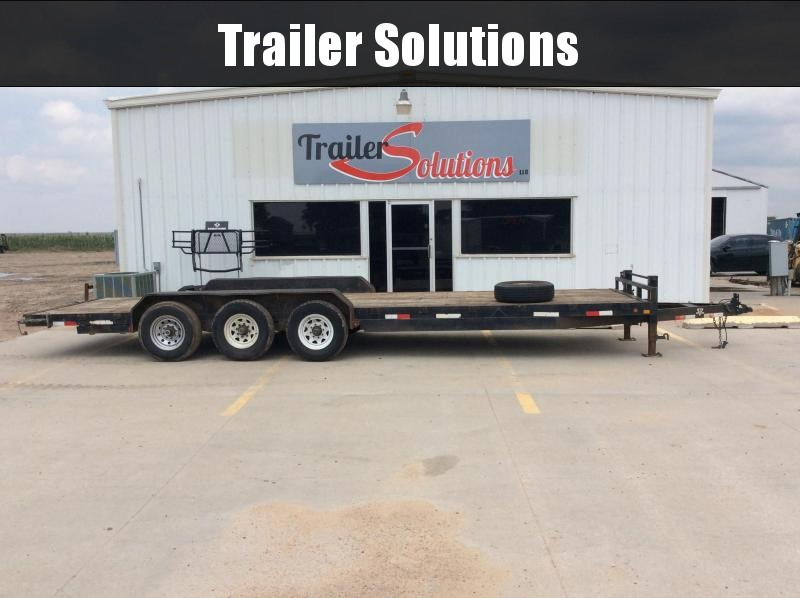 "2004 PJ 26' x 83"" Car Hauler Trailer"