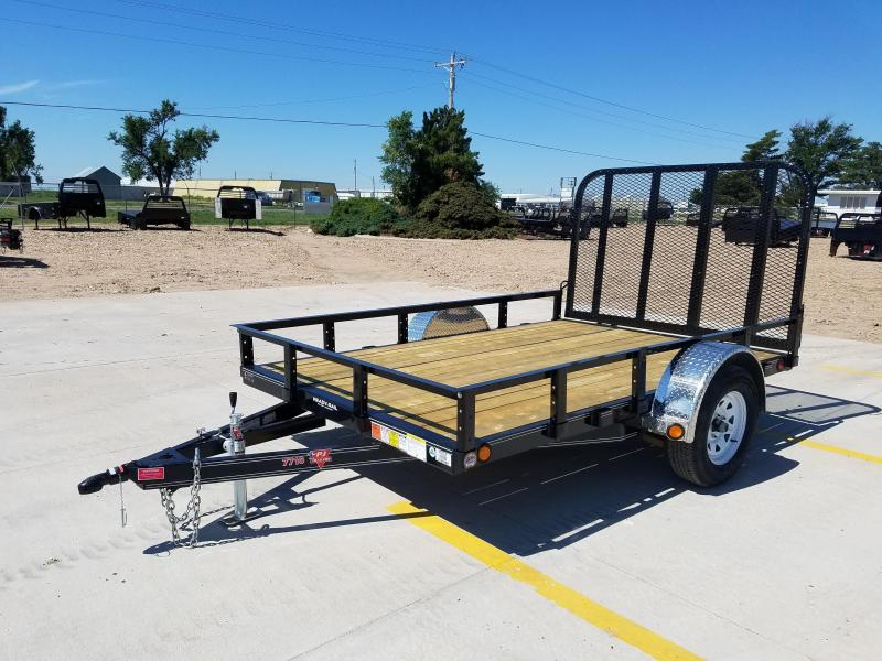 "2018 PJ 10' x 77"" Single Axle Utility Trailer"