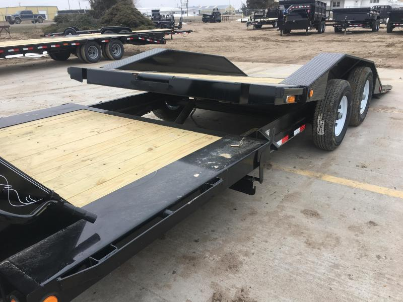 "2019 PJ 22' x  102"" 6"" Channel Super-Wide Tilt Trailer"