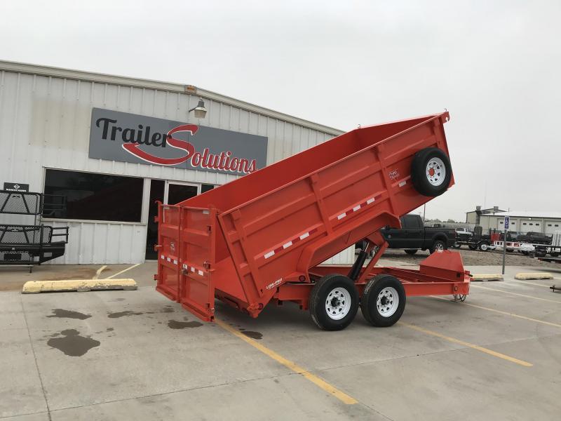 """2019 PJ 14' x 83""""  Low Pro High Side Dump Trailer"""