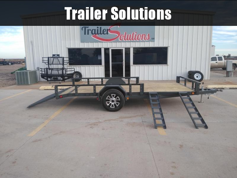 "2019 PJ 14' x 72"" SIngle Axle Channel Utility"