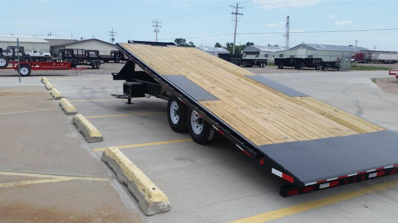 "2019 PJ 24' x 102"" HD Decker Tilt Trailer"