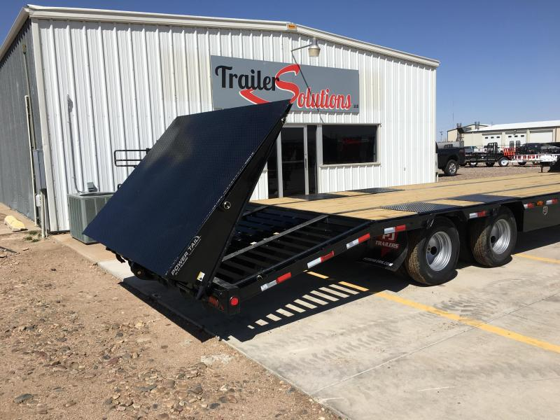 2018 PJ 32' Low-Pro Flatdeck Trailer with Duals