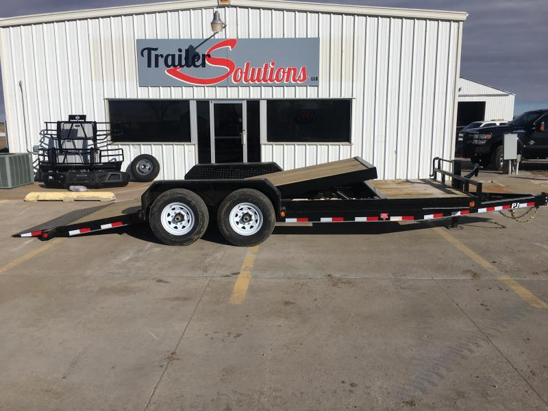 "2019 PJ 20' x 83"" Tilt Trailer with 6"" Channel"