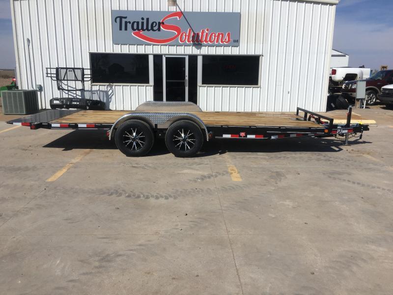 "2019 PJ 20' x 83"" Hydraulic Quick Tilt Trailer"