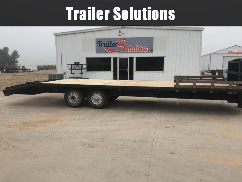 1993 PJ Trailers LS Flatbed Trailer