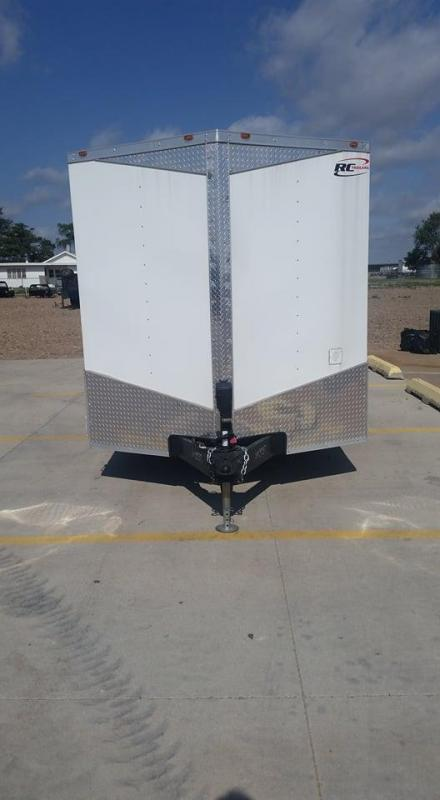 2018 RC 7' x 16' Enclosed Trailer