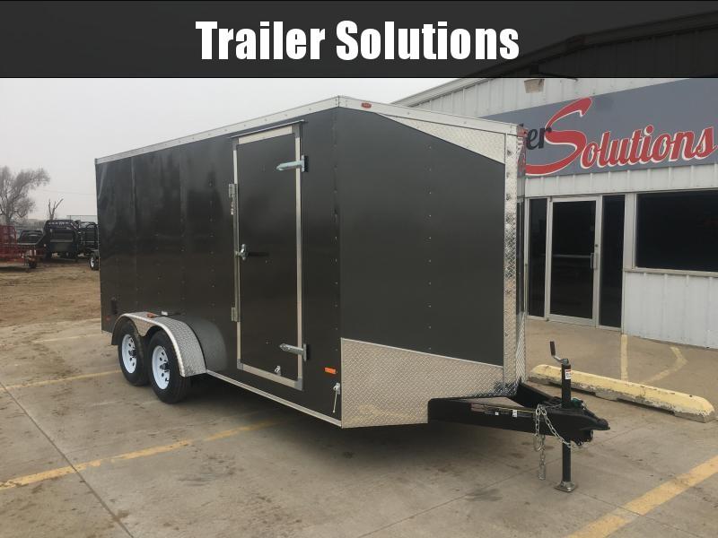 2019 RC Trailers RWT 7 X 16 Enclosed Cargo Trailer