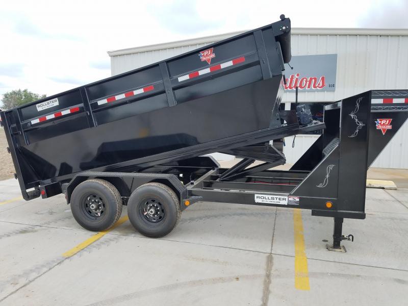 "2019 PJ 14' x 83"" Rollster Roll Off Dump Trailer"