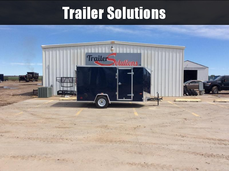 2019 RC 7 x 12 Enclosed Trailer