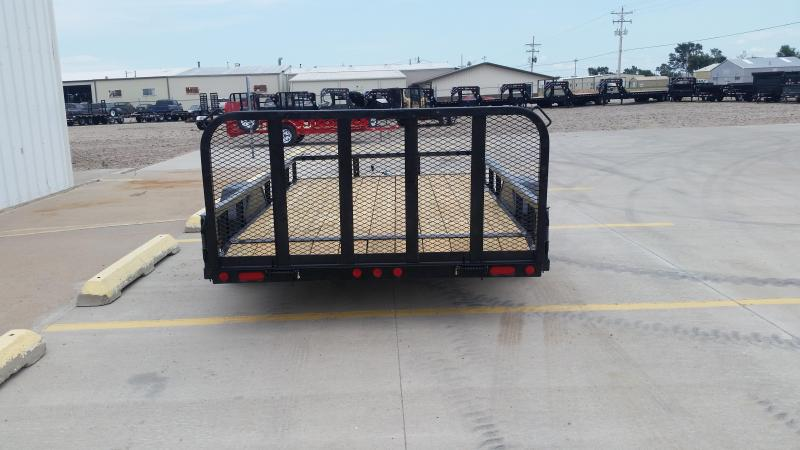 "2019 PJ 12' x 83"" Single Axle Channel Utility Trailer"