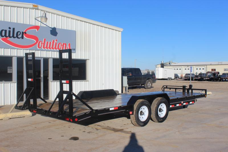 """2019 PJ 22' x 83"""" with 6"""" Channel Equipment Trailer"""