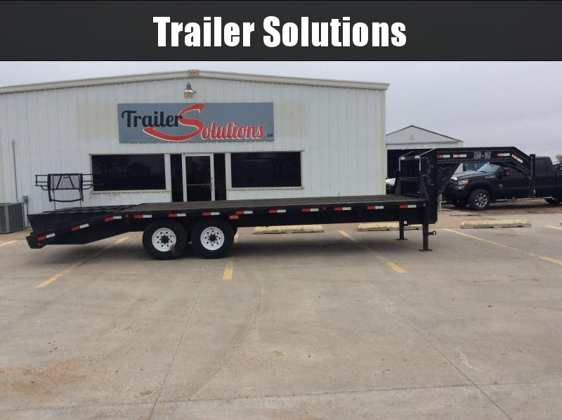 2004 Load Trail MX Flatbed Trailer