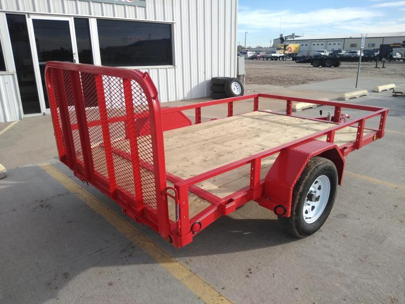 "2019 PJ 10' x 72"" Single Axle Channel Utility"