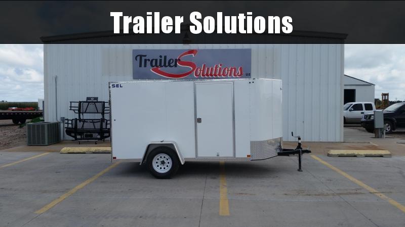 2018 Sharp 6 X 10-SA SEL Enclosed Cargo Trailer