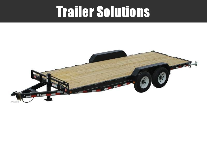 "2019 PJ 24' x 83"" with 6"" Channel Equipment Trailer"