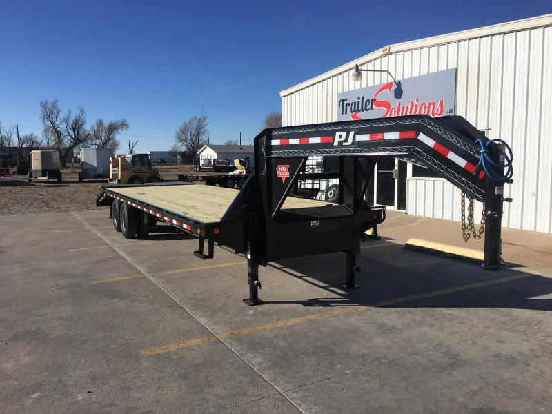 "2019 PJ 30' x 102"" Classic Flatdeck Trailer with Duals"