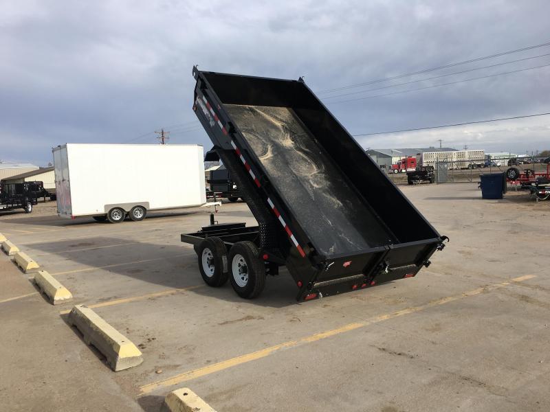 "2020 PJ 12' x 72"" Tandem Axle Dump Trailer"