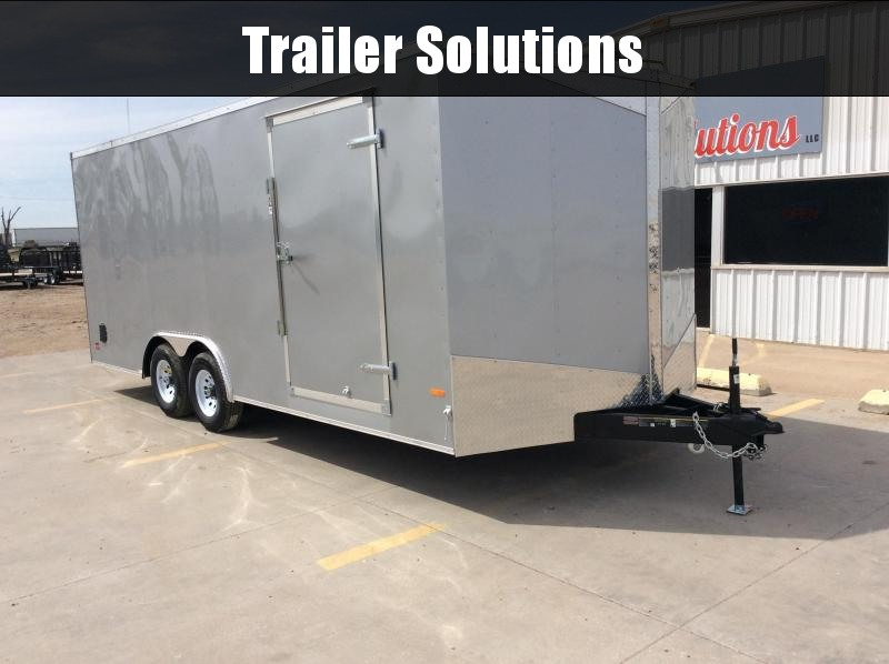 2019 RC 8.5 x 20 Enclosed Trailer