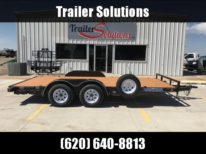 """2012 Load Trail 16' x 83""""  Tandem Axle Trailer"""