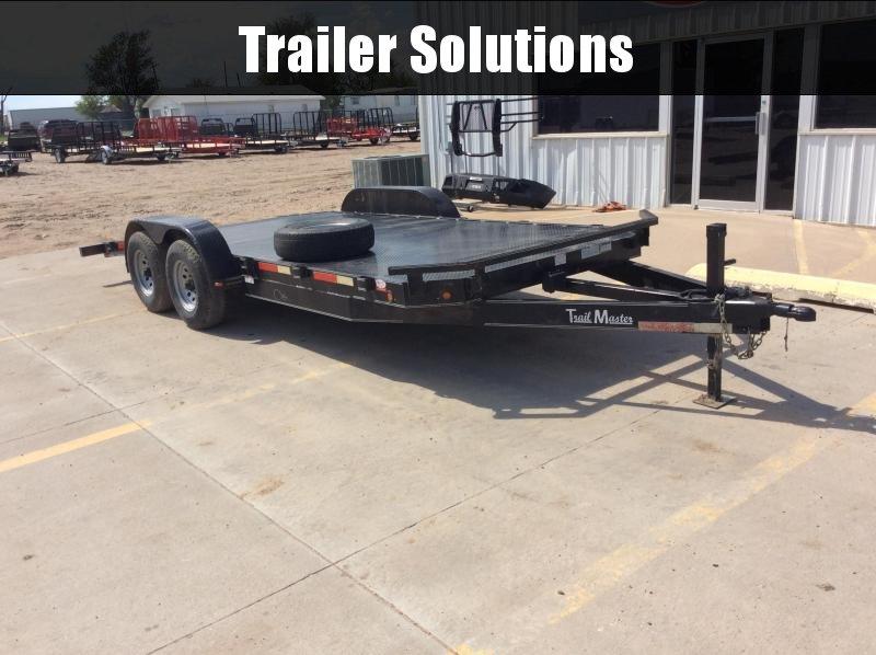 2010 Trailmaster Utility Utility Trailer