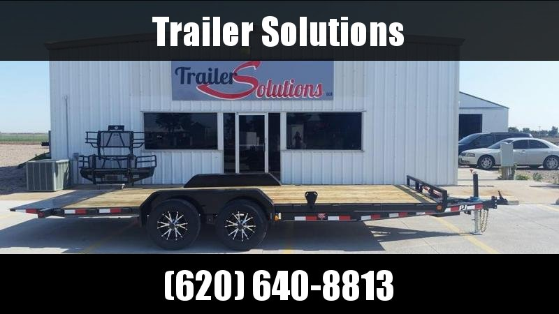 "2019 PJ 20' x 83"" Hydraulic Quick Tilt Trailer"