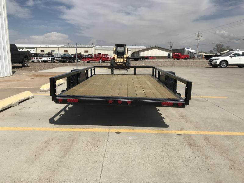 "2019 PJ 12' x 72"" Single Axle Utility Tilt Trailer"