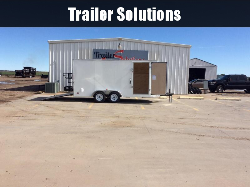 2019 RC 7 x 16 Enclosed Trailer
